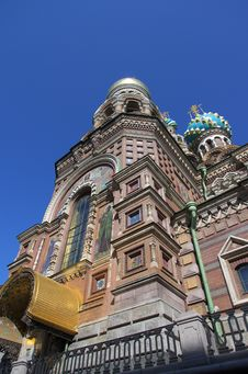 Free Temple Of Saviour On The Blood In Saint Petersburg Royalty Free Stock Photography - 32659747