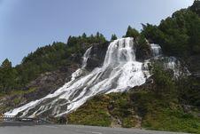 Fureberg Falls Stock Images