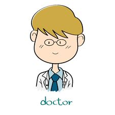 Free Doctor Cartoon Royalty Free Stock Image - 32676506