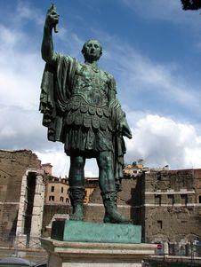 Free Roman Emperor Caesar Augustus Stock Photo - 32684330