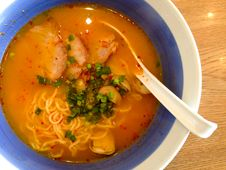 Free Chilli Soup Ramen Stock Photo - 32690110