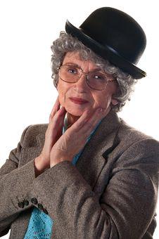 Free Elderly Woman Stock Photo - 32693620