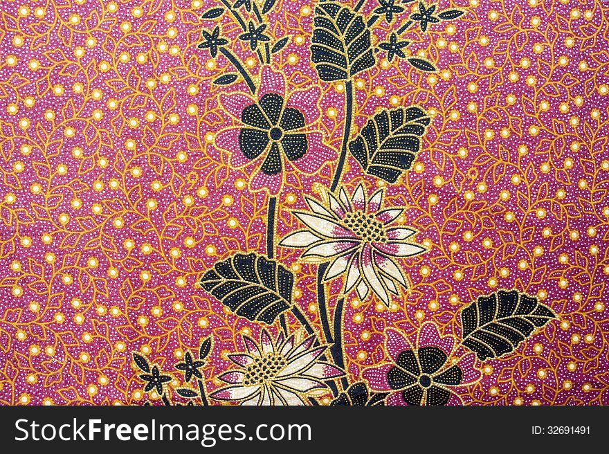 Beautiful Batik Pattern