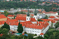 Free The Aerial View Of Prague City Stock Image - 3273121