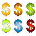 Free Dollar Signs Money Clip Art 2 Royalty Free Stock Photos - 3274038