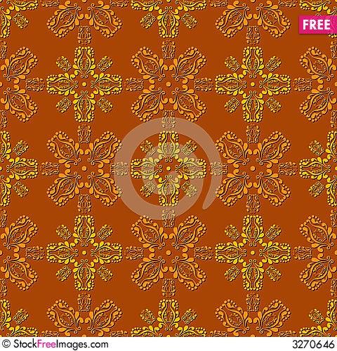 Free Seamless Wallpaper Tile Design Royalty Free Stock Image - 3270646