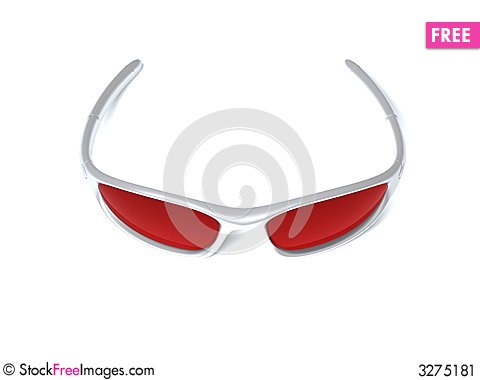 Free Sport Eye Glasses Stock Image - 3275181
