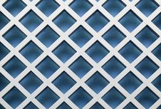 Free Blue Diagonal Pattern Royalty Free Stock Photography - 3271417