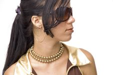 Free Young Fashion Girl Stock Photos - 3271433