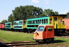 Free Train Carriages. Stock Photos - 3271993