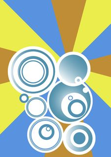 Free Circles Background Stock Image - 3272591