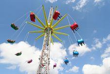 Free Giant Carousel Royalty Free Stock Image - 3273236