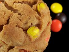 Free Close Up Of Candy Cookies Stock Image - 3273651