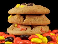 Free Stack Of Three Cookies Stock Photos - 3273653