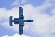 Free A 10 Warthog Attack Jet Royalty Free Stock Photography - 3275217