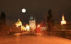 Free The Night View Of Prague Stock Photos - 3275423