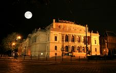 Free The Night View Of Prague Royalty Free Stock Images - 3275769