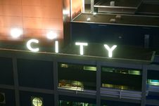 Free City Sign Royalty Free Stock Images - 3277249