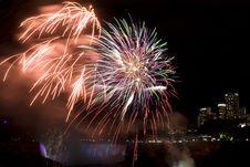 Free Lit Firework Royalty Free Stock Photo - 3277305