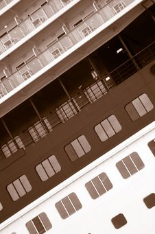Ship Windows Royalty Free Stock Images