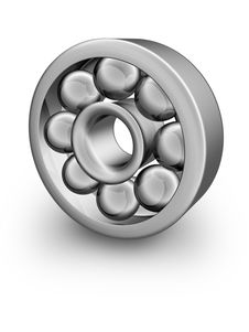 Free Silver Ball Bearing Royalty Free Stock Images - 3278609