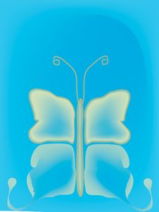 Free Butterfly Backdrop Stock Image - 3279141