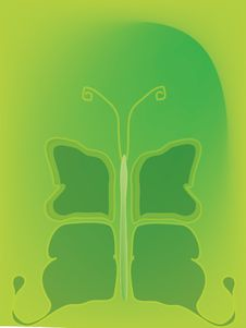 Free Butterfly Green Stock Images - 3279144