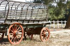 Free Old Ox Wagon Stock Images - 3279164