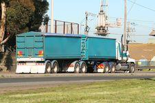 Free Semi Truck Stock Image - 3279471
