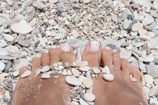 Free Feet Beauty Royalty Free Stock Photography - 32712347