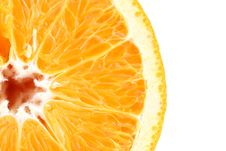 Free Slice Of Fresh Orange Royalty Free Stock Photos - 32716398