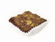 Free Brownies In Cup Stock Image - 32720341