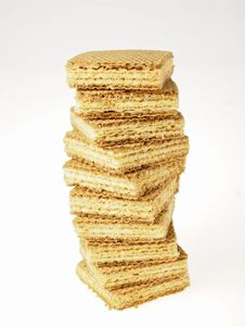 Free Wafer Stack Stock Photos - 32720693