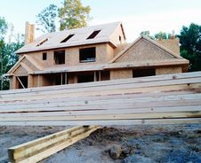 Free New House Construction Royalty Free Stock Photography - 32725077