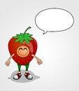 Free Strawberry Character Stock Photo - 32734570