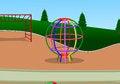 Free Wire Ball Playground Stock Photo - 32734580