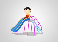 Free Slider Playground Stock Photography - 32734432