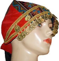 Free A Turkish Mannequin Face Close-up Displaying Headscarf Stock Images - 32736344