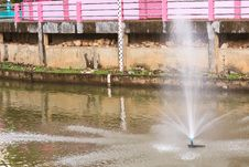 Free River In The City. Royalty Free Stock Photography - 32740957