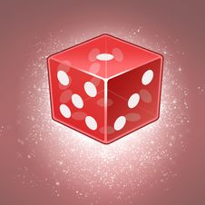 Free Magic Dice Royalty Free Stock Photos - 32746388