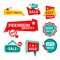 Free Sale & Discount Badges Stock Image - 32740431