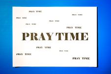 Free Pray Time Stock Images - 32768444