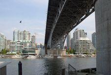 False Creek, Vancouver Royalty Free Stock Photography