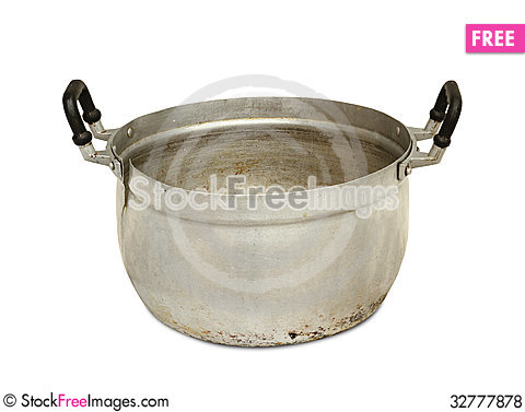 Free Aluminum Pot Royalty Free Stock Photos - 32777878