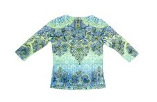 Colorful Long Sleeve Shirt Stock Images