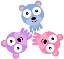 Free Bears Unite Stock Image - 32777241
