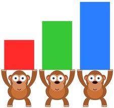 Free Gorilla Graph Royalty Free Stock Photos - 32777248