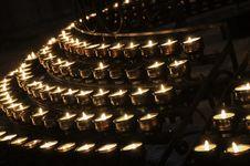 Free Burning Candles Stock Photos - 32788093