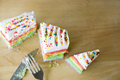 Free Top View Of Colorful Cake Stock Photo - 32794020