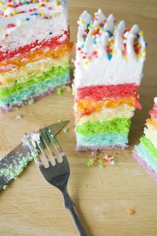 Free Party Cake Royalty Free Stock Photo - 32793935